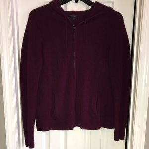 Ann Taylor cashmere hoodie